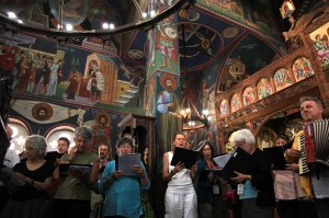 Rehearsal in Monastery of Virgin Mary 6