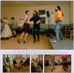 contra dance calendar, March page